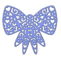 Sue Dix Designs - Filigree Bow Everyday Metal Dies