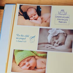 Craft Stamps New Baby