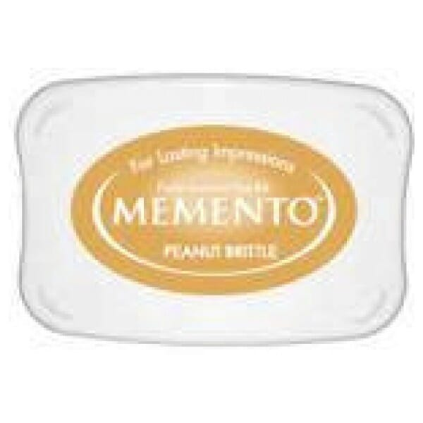 Tsukineko - Peanut Brittle Memento Ink Pad