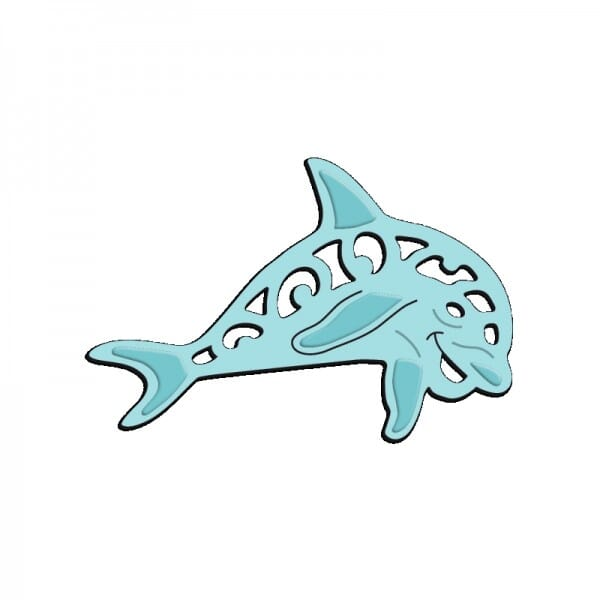 Sue Dix Designs - Dancing Dolphin Mini Dies