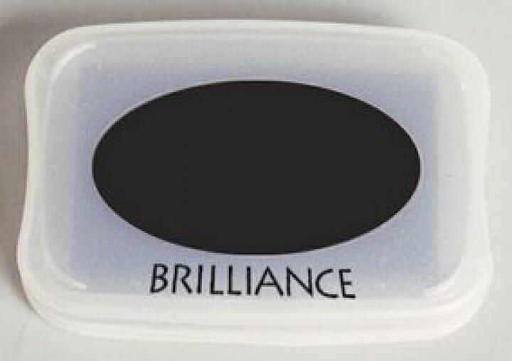 Tsukineko - Graphite Black Brilliance Pad