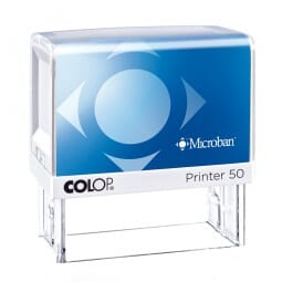 Colop Printer 50 Microban 69 x 30 mm - 7 lines