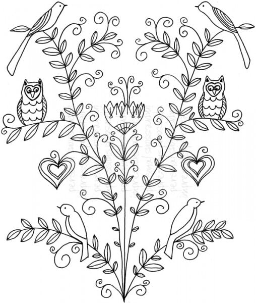 Lindsay Mason Designs - Tree of Life - Clear Stamp
