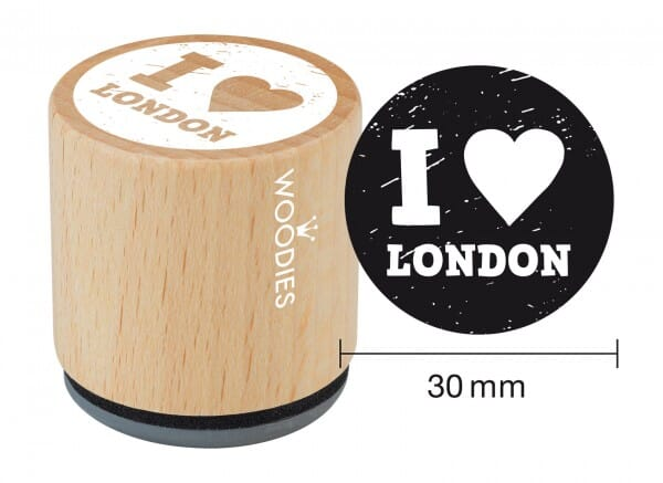 Woodies stamp I love London