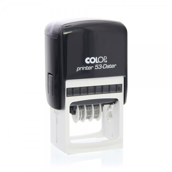 Stamps 4 U Colop Printer 53 Dater 45 x 30 mm 2+2 lines