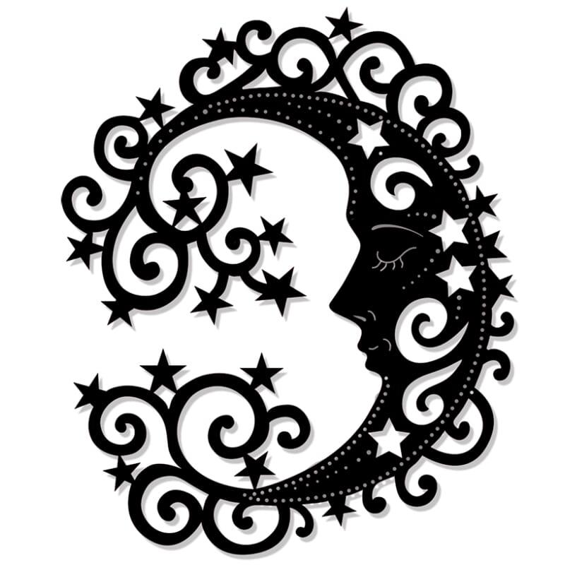 Sweet Dixie Decorative Circular Frames Die