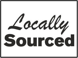 Locally Sourced Packaging Stamp