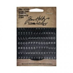 Tim Holtz idea-ology - Label Letters