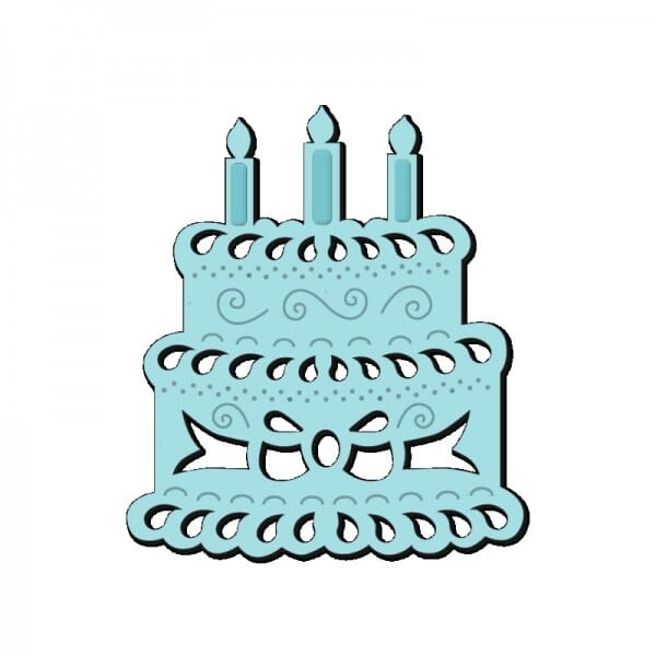 Sue Dix Designs - Birthday Cake Mini Dies