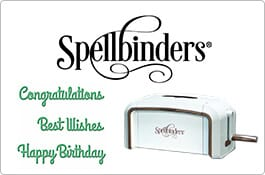 Spellbinders Products
