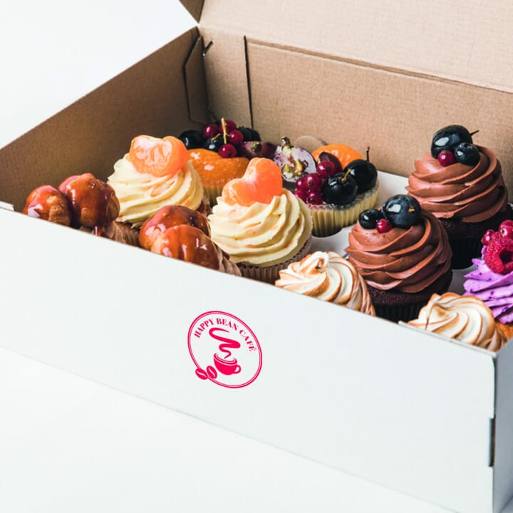 Stamps as the Cost-Effective Alternative to Branded Takeaway Food Packaging
