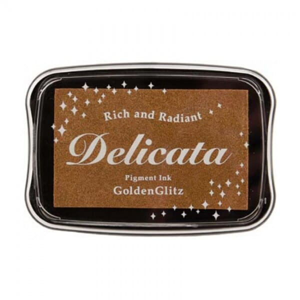 Tsukineko - Delicata Ink Pad Metallic Gold