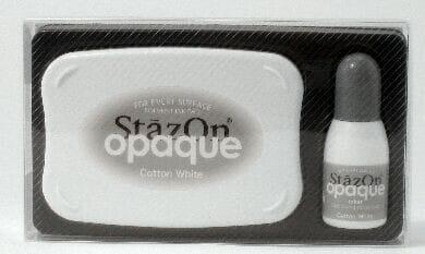 Tsukineko - Cotton White StazOn Pad