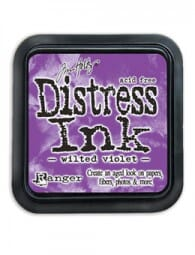 Ranger Ink - September Distress Ink Pad - Wilted Violet