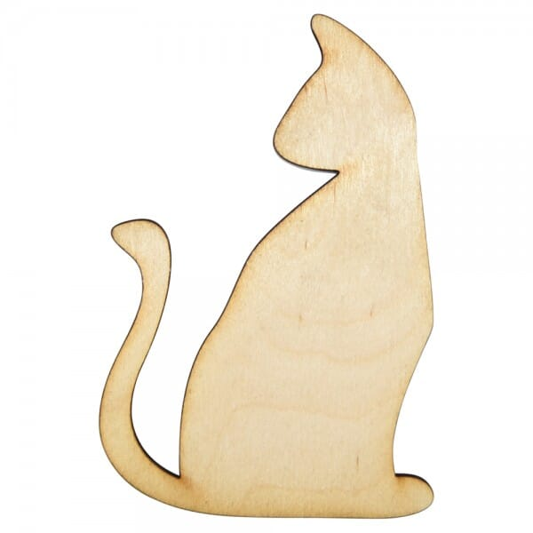 Craft Shapes - Cat side profile