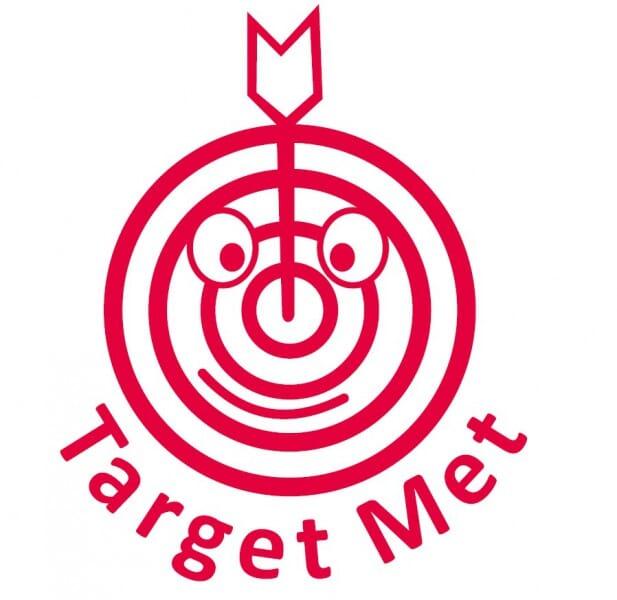 Trodat Printy 4922 - Target met (target face) - red