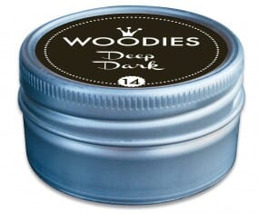Woodies stamp pad Deep Dark