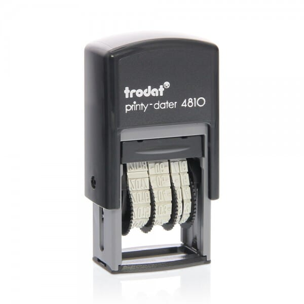 Trodat Printy mini dater 4810 - 3.8 mm