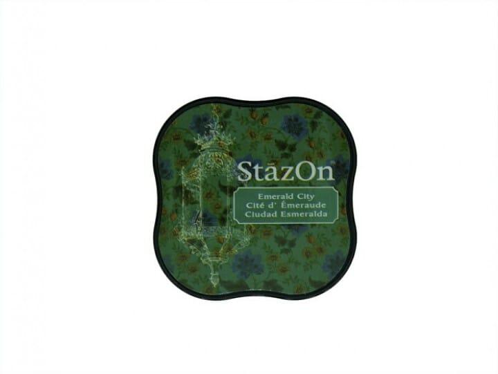 Tsukineko - Stazon Midi Pad Emerald City