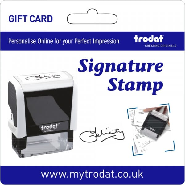 Trodat Signature Stamp Gift Card