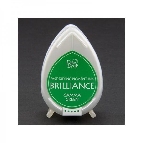 Tsukineko - Gamma Green Brilliance Dew Drop Ink Pad