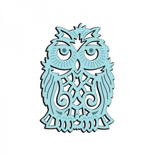 Sue Dix Designs - Wise Owl Mini Dies