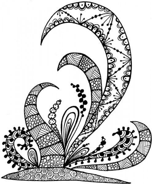 Lindsay Mason Designs - Zendoodles BotaniReady To Go Clear Stamp