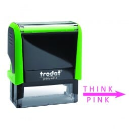Teachers Stamp for Marking Think Pink & Go Green, Set of 2 Trodat Printy 4912