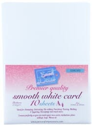 Sweet Dixie - Premier Quality Smooth White Card 10 sheets