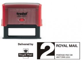 Trodat Printy 4925 Royal Mail PPI Stamp