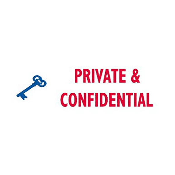 Trodat Office Printy - Private & Confidential