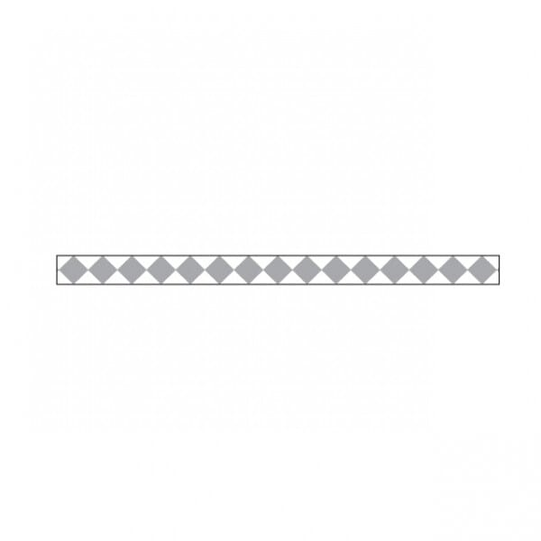 Little B - Little B Silver Harlequin 3mm x 20m Tape