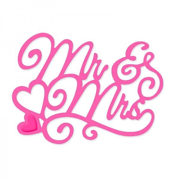 Sweet Dixie Mr & Mrs Die by Sue Dix