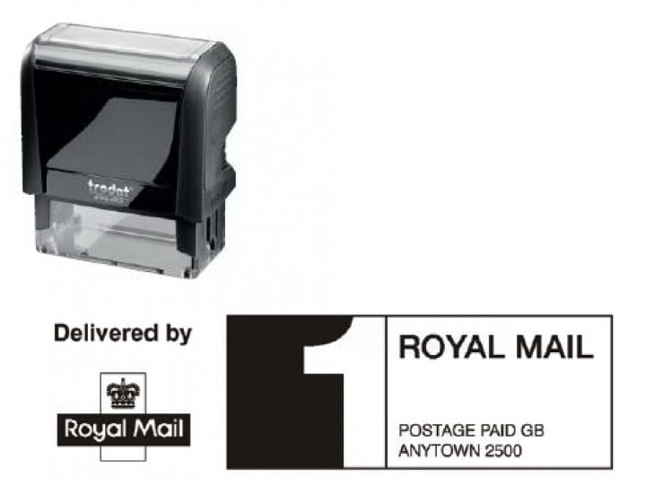 Trodat Printy 4913 Royal Mail PPI Stamp