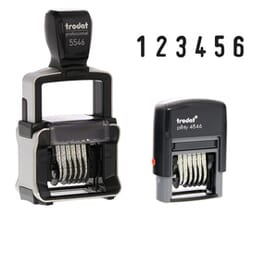 Self-inking Number Stamps