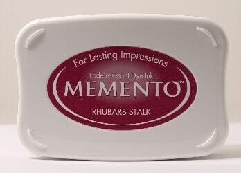 Tsukineko - Rhubarb Stalk Memento Ink Pad