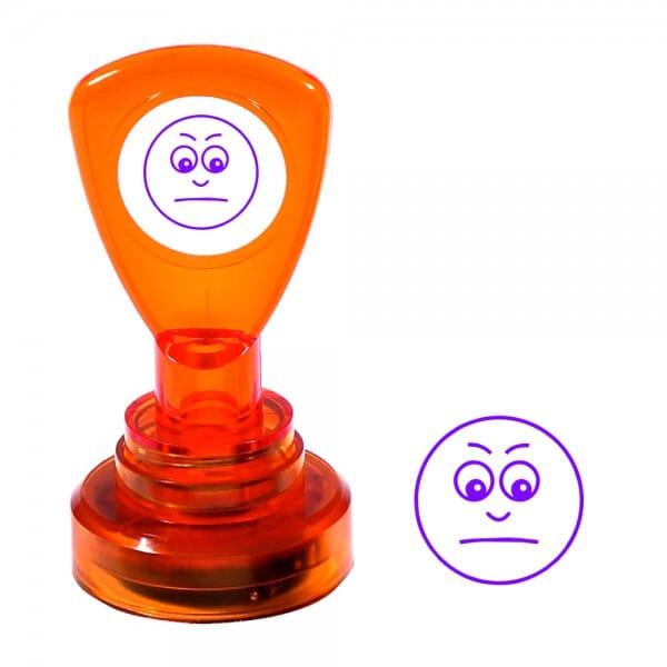 Teachers' Motivation Stamp - GLOOMY FACE
