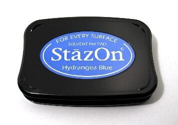 Tsukineko - Hydrangea Blue StazOn Pad