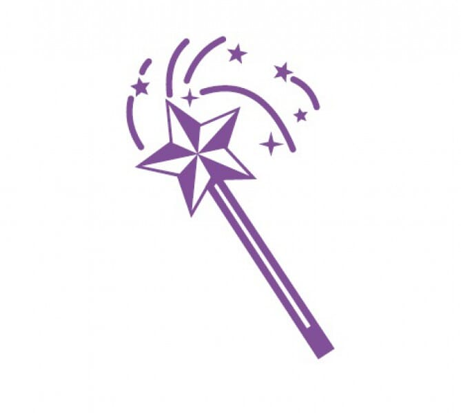 Trodat Printy 4921 - Magic wand - violet