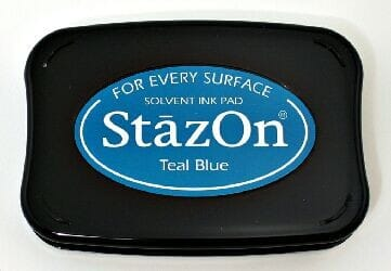 Tsukineko - Teal Blue StazOn Pad
