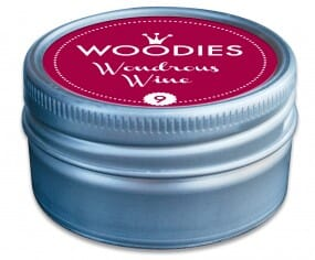 Woodies stamp pad Wondrous Wine