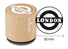 Woodies stamp London 1