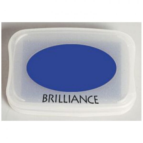 Tsukineko - Mediterranean Blue Brilliance Pad
