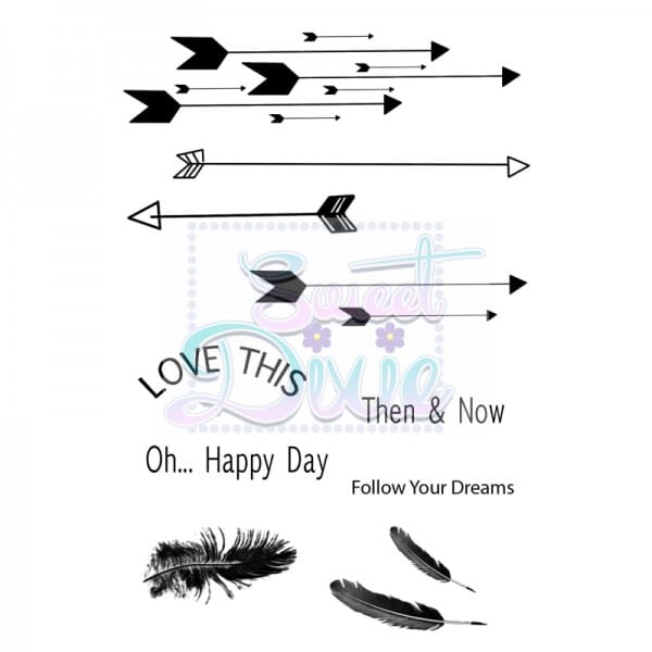 Marion Emberson Designs - Follow your dreams Clear Stamp size A6