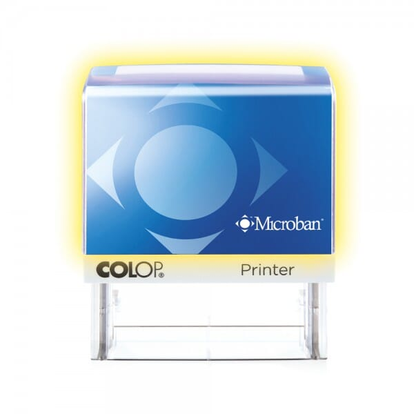 Colop Printer 60 Microban 76 x 37 mm - 8 lines