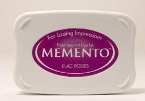 Tsukineko - Lilac Posies Memento Ink Pad