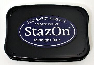 Tsukineko - Midnight Blue StazOn Pad