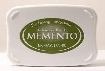 Tsukineko - Bamboo Leaves Memento Ink Pad