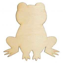 Craft Shapes - Frog