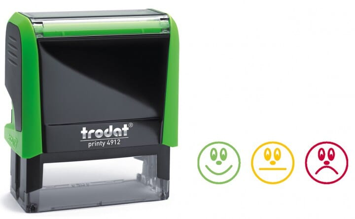 Trodat Classmate Self-Inking - Faces A 4912